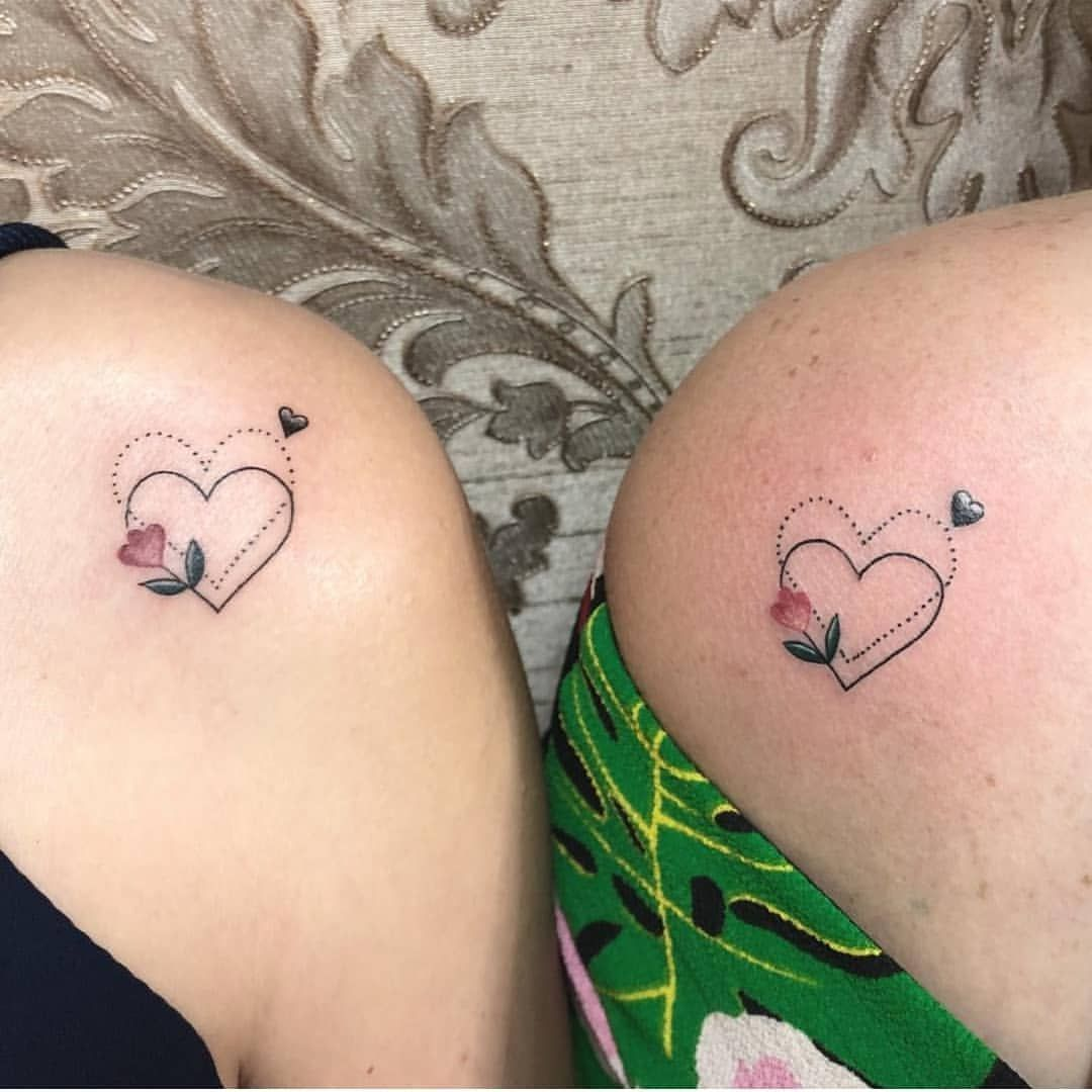 18+ Astonishing Mother and daughter in law matching tattoos ideas
