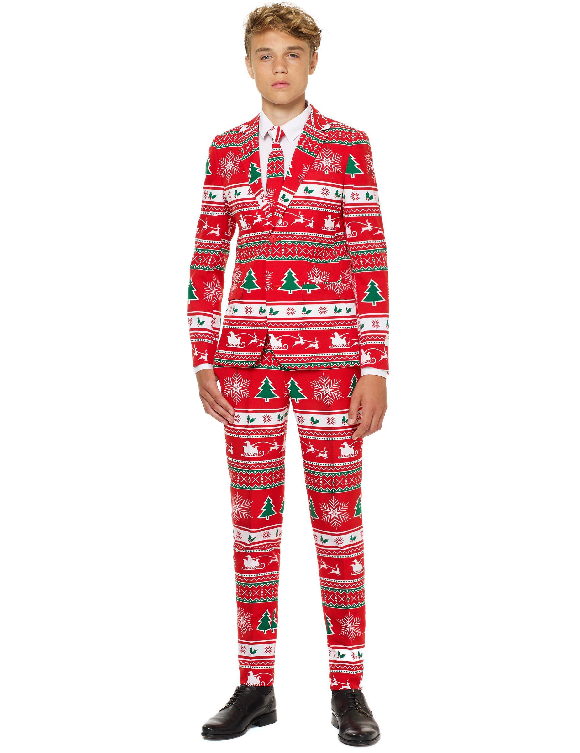 Traje Mr. Winterwonderland adolescente navidad de Opposuits™  Este disfraz  de Mr. Winterwonderland e8c09d52748