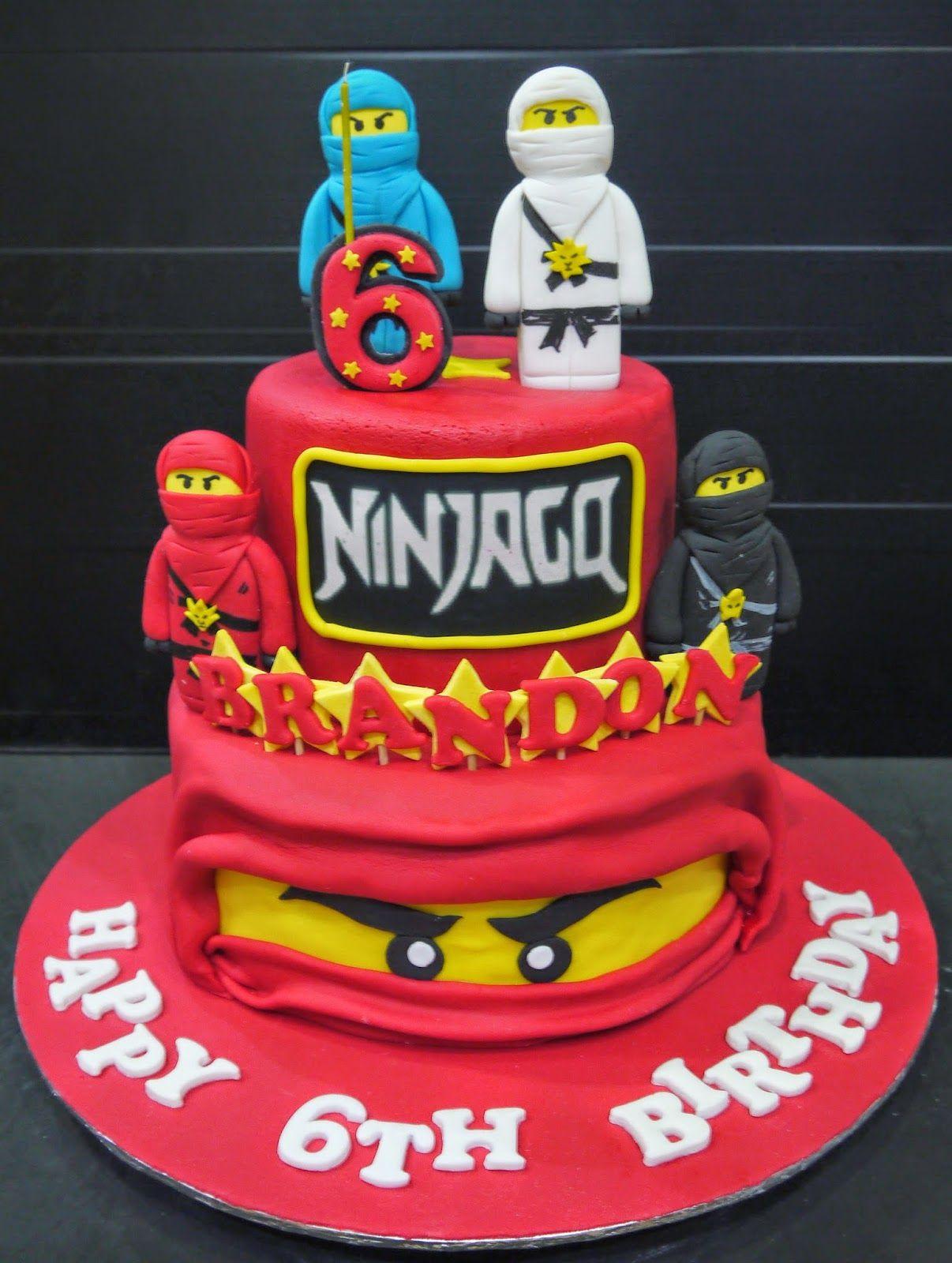Cool Ninjago Cake