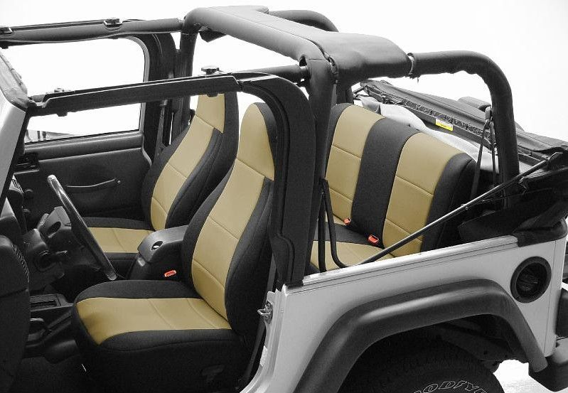 Admirable Coverking Cr Grade Neoprene Custom Fit Seat Covers For Jeep Dailytribune Chair Design For Home Dailytribuneorg