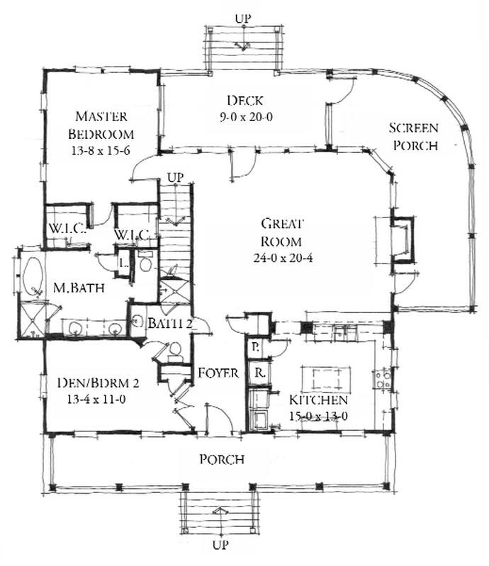 Allison ramsey architects floorplan for the bermuda Allison ramsey house plans