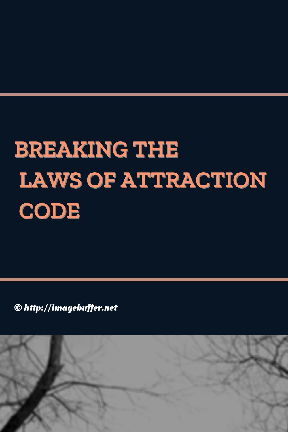 Argument Of Getting Rid The Law Attraction Essay