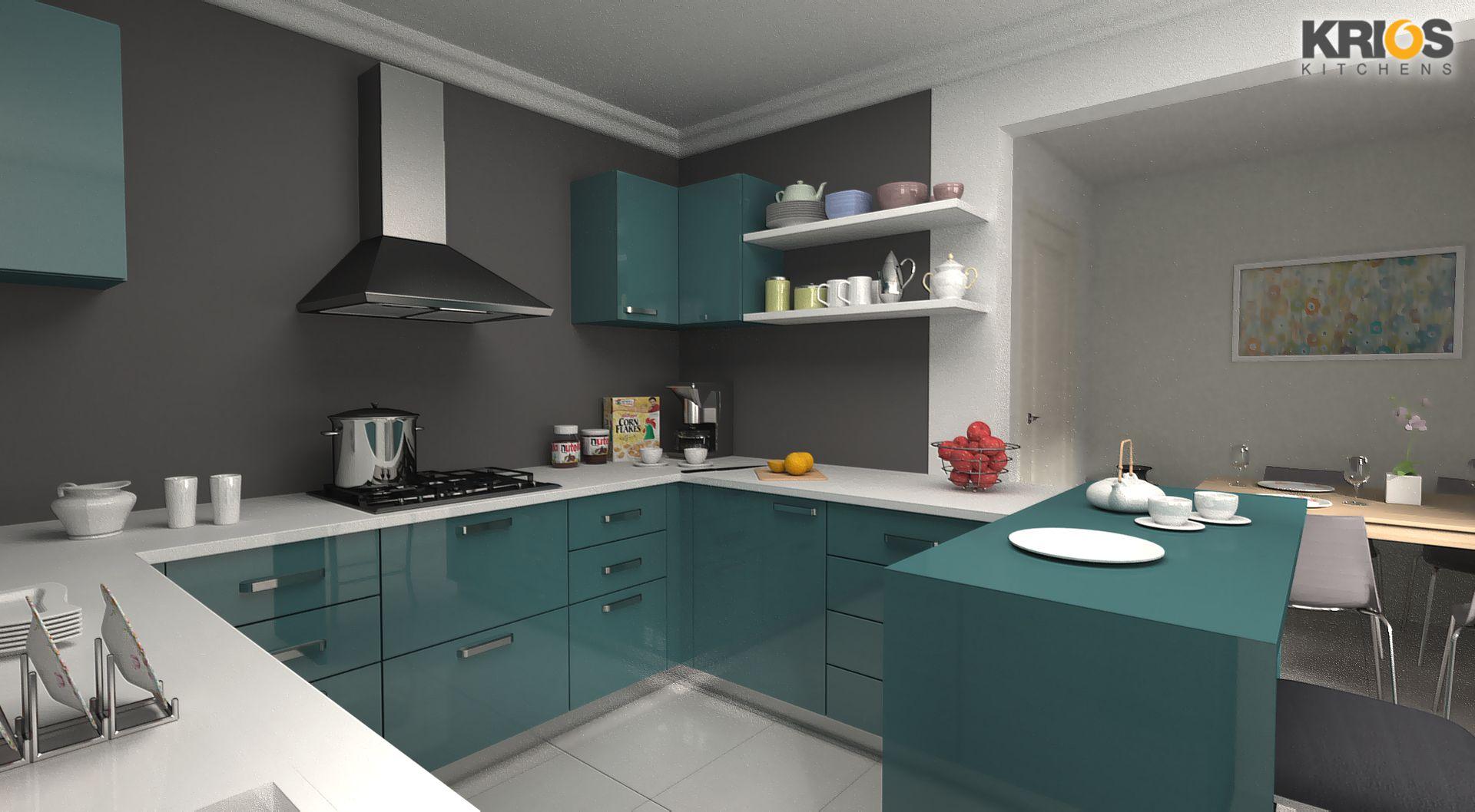 16 U Shape Modular Kitchen Design 3 U Shaped Modular Kitchen - Modular Kitchen U Shaped Design