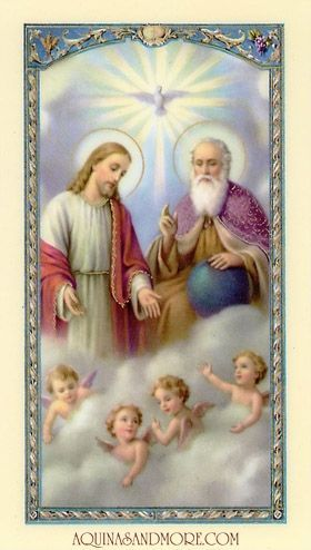 Holy Trinity Pray for us to become Great Saints!  #Catholic #Jesus