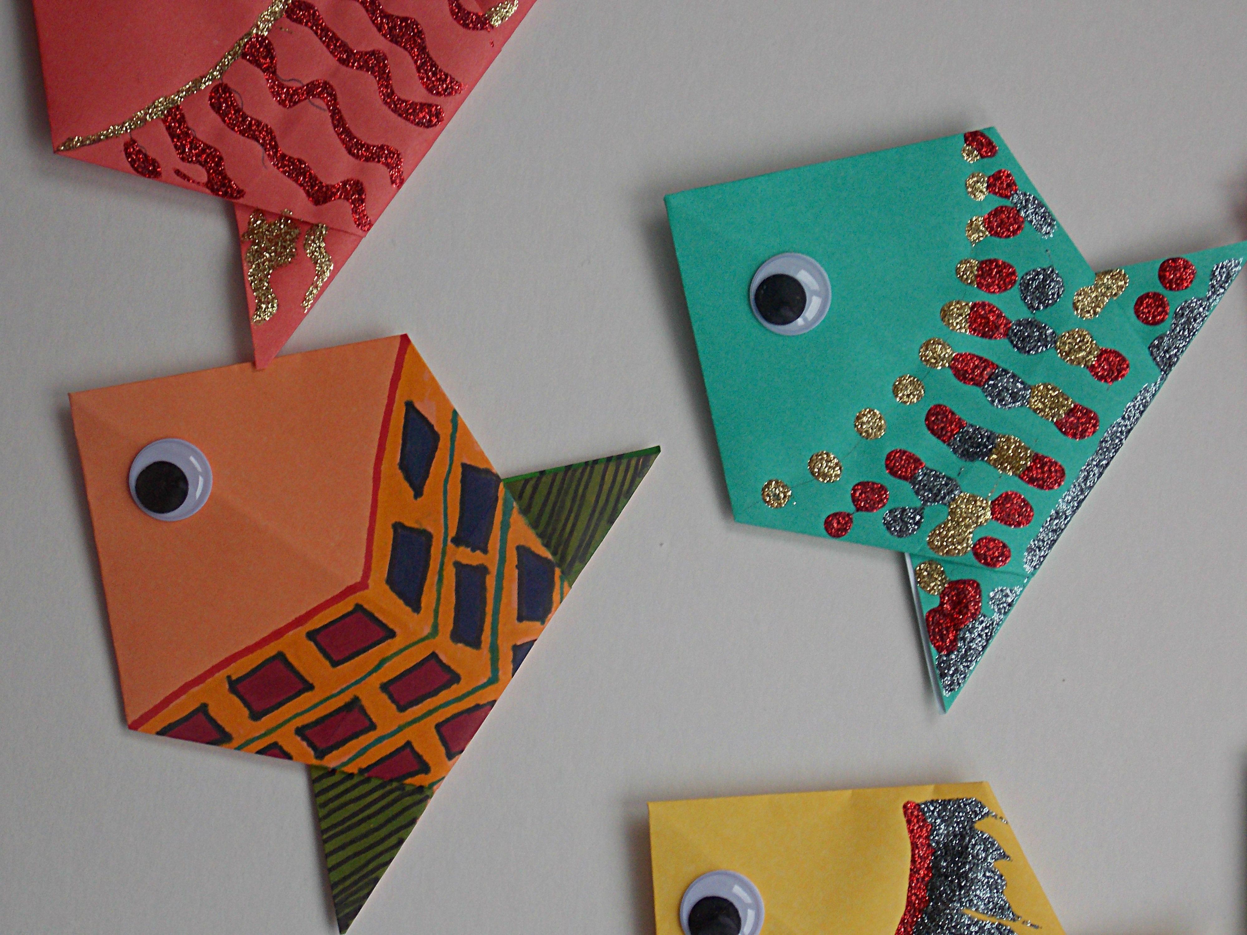 Origami fish origami fish origami and origami animals origami fish easycraftsforchildren easy origami animalsorigami jeuxipadfo Choice Image