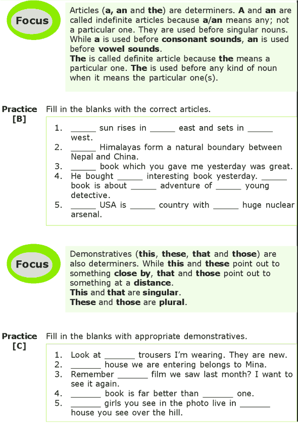 Grade 7 Grammar Lesson 5 Determiners (1) | 7th Grade English