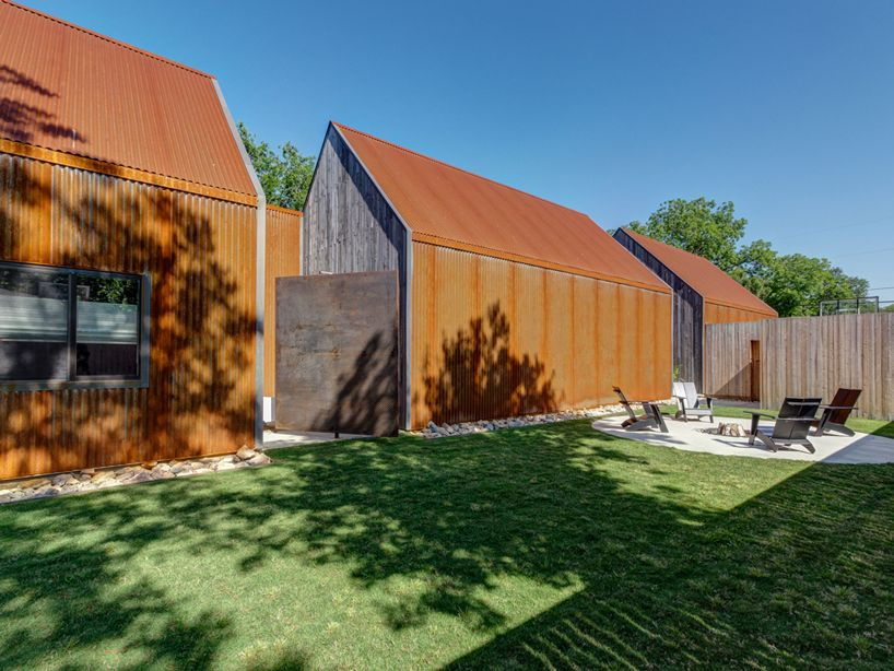Buchanan Architecture Completes Sculptural Corten Steel Residence In Dallas Architecture Residential Design Residences