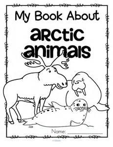 Arctic Animals Foldable Booklets 20 Foldable Informational Animals Of The Arctic Coloring