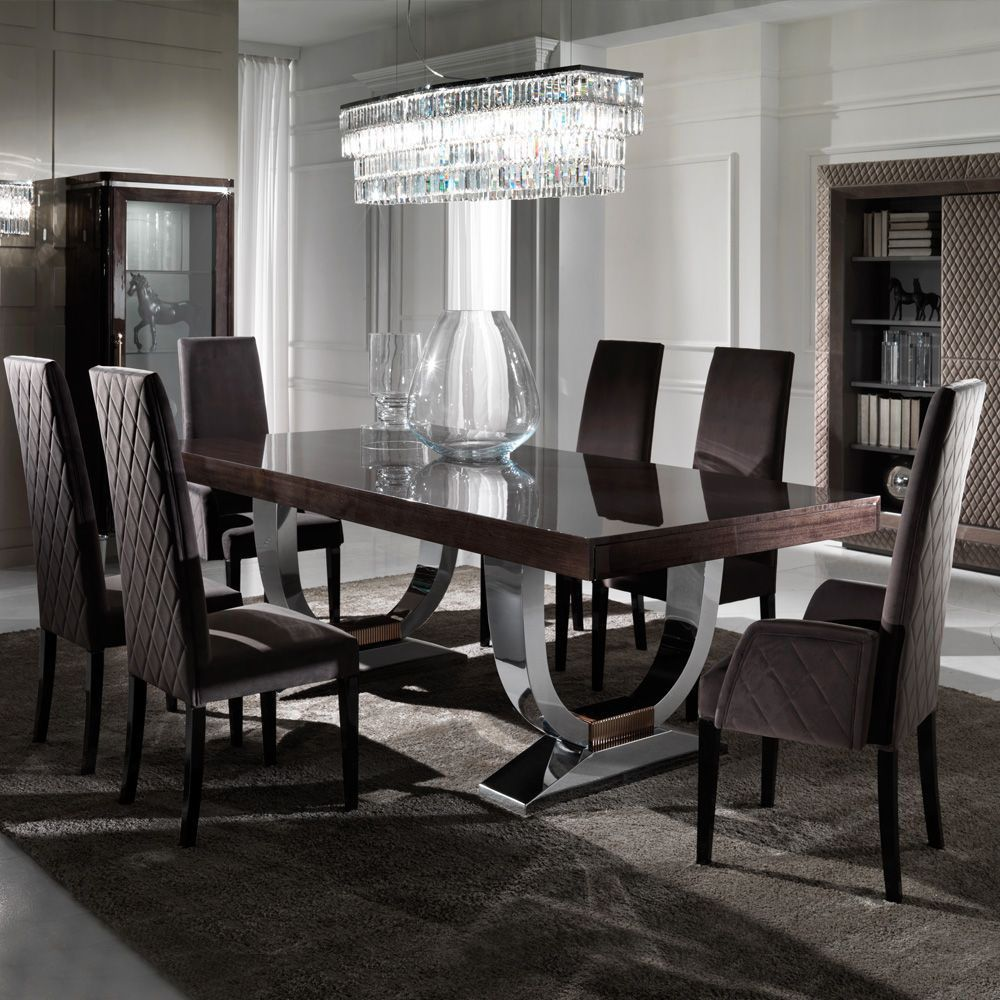Super Creative Pictures Of Modern Dining Room Sets That Will Impress You Dining Room Furniture Modern Italian Dining Room Luxury Dining Room