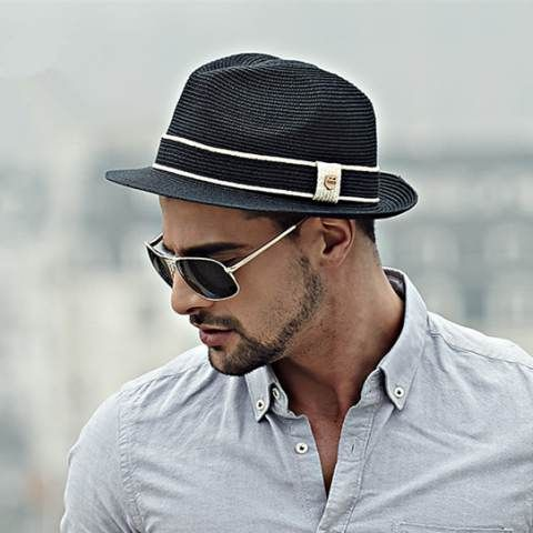 de2263974d2 Gentleman Jazz hat for men straw panama hats summer wear