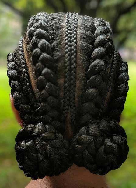 49 Super Ideas Braids Afro Crochet