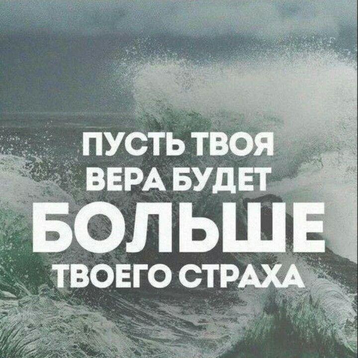 Человек способен победить страх, только будучи лицом к ...