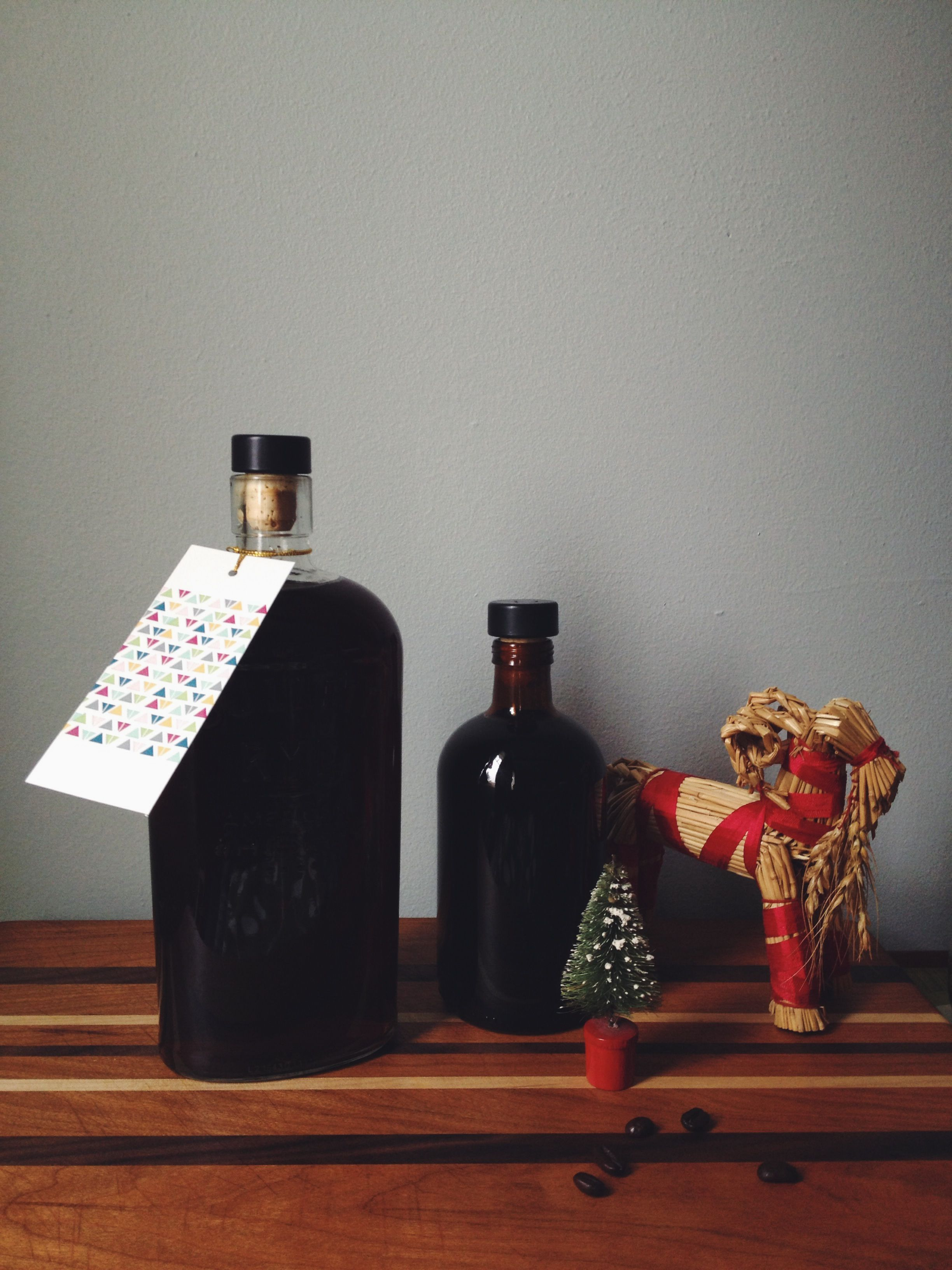 Homemade Cold Brewed Coffee Liqueur — cider & rye