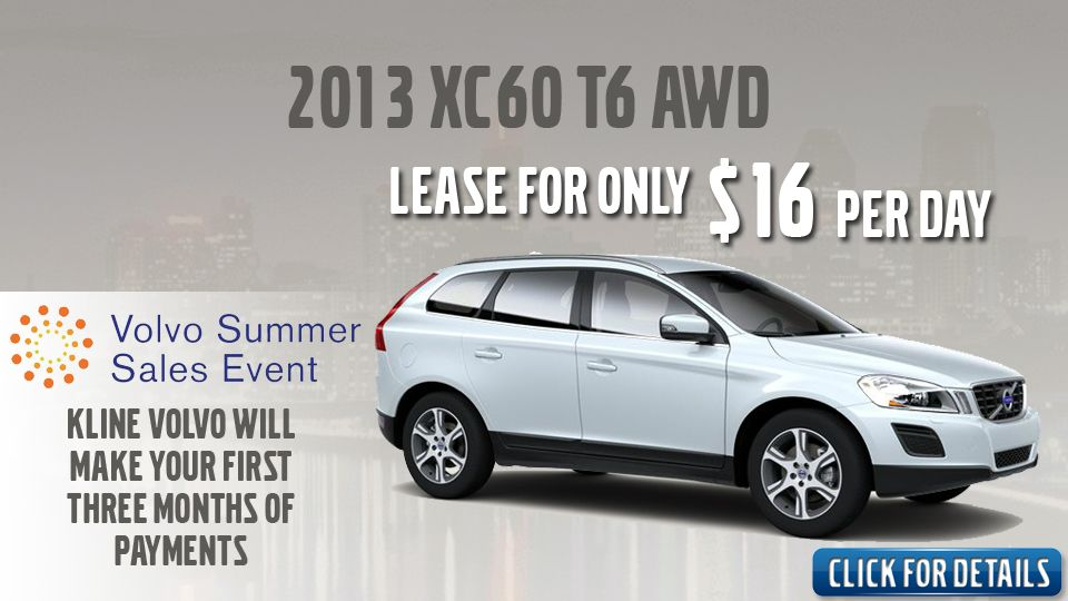 2013 Volvo XC60 T6 AWD LEASE SPECIAL Lease specials