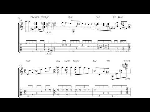 Jack Wilkins - My Foolish Heart Solo Jazz Guitar Transcription ...