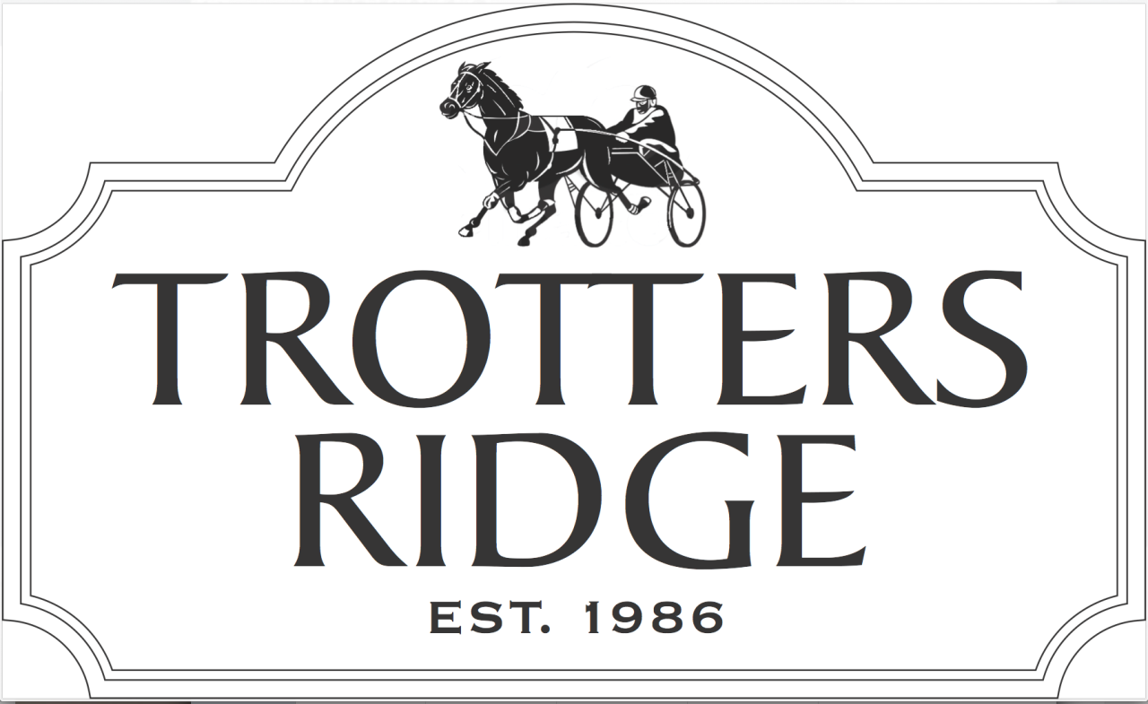 custom signage for trotters ridge community strata sign company