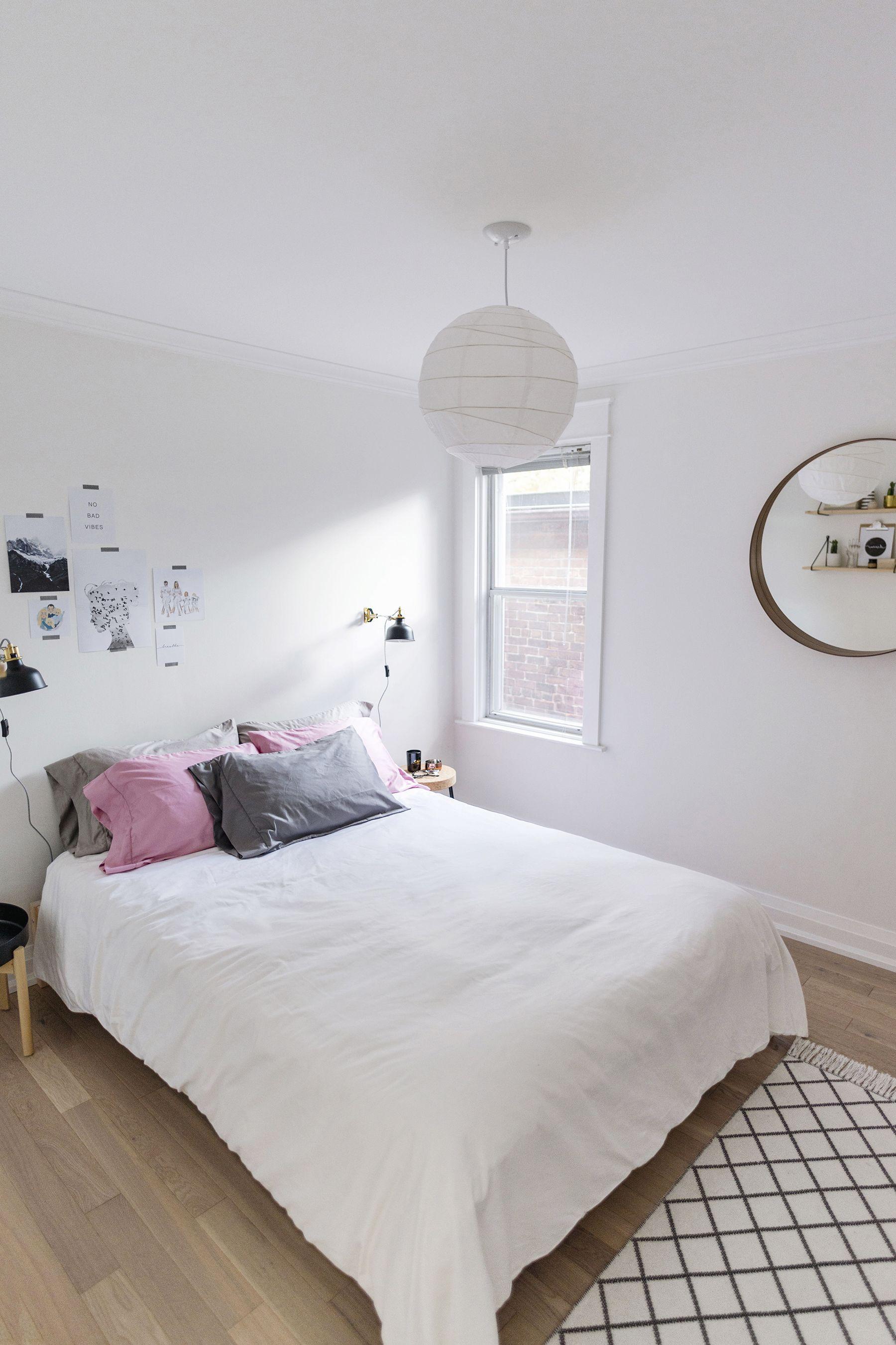A Modern, ScandinavianInspired Bedroom Scandinavian