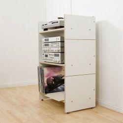 hifi regal roadie ii f r schallplatten und hifi anlage schule. Black Bedroom Furniture Sets. Home Design Ideas