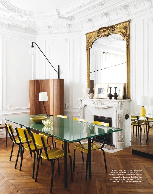 Parisian Dining Room Alluring Pinr Mor On Comedores  Pinterest Design Ideas