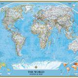 Fotomurales mapa del mundo pol tico actual 2 me interesa mapas mapa mural del mundo mapas - Fotomurales national geographic ...