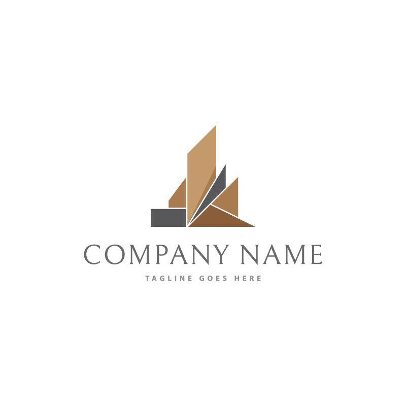 Abstract Construction | logo | Construction logo design, Building