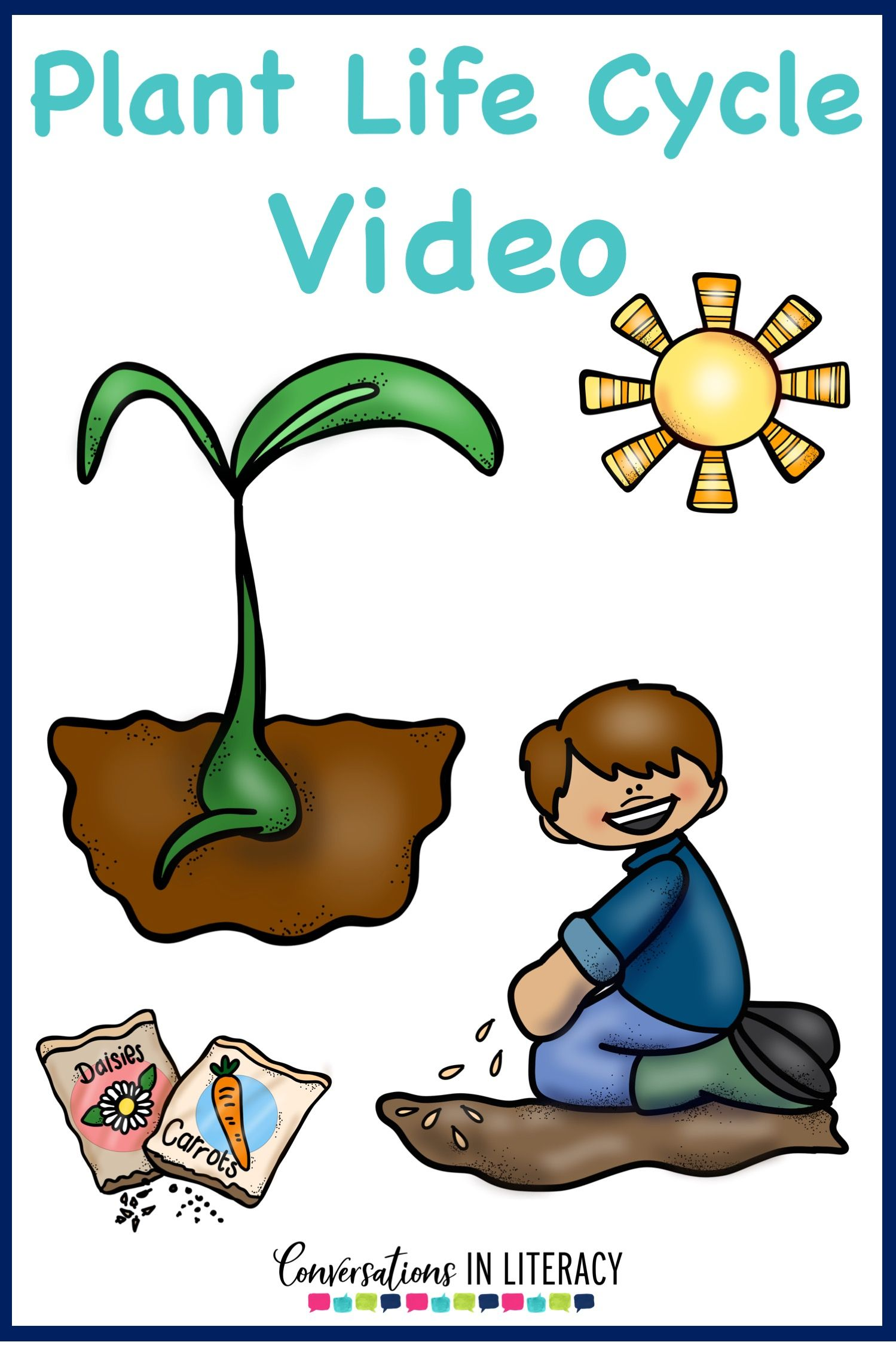 Plant Life Cycle Activities Projects And A Free Printable