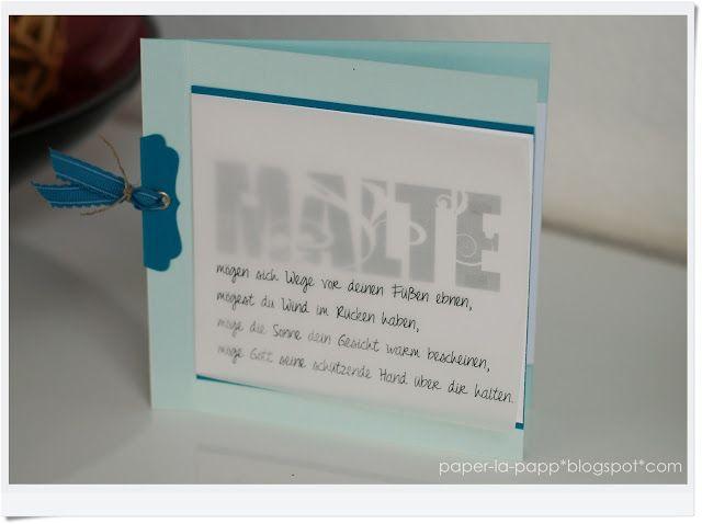 paper la papp stampin up kommunion konfirmation paper. Black Bedroom Furniture Sets. Home Design Ideas