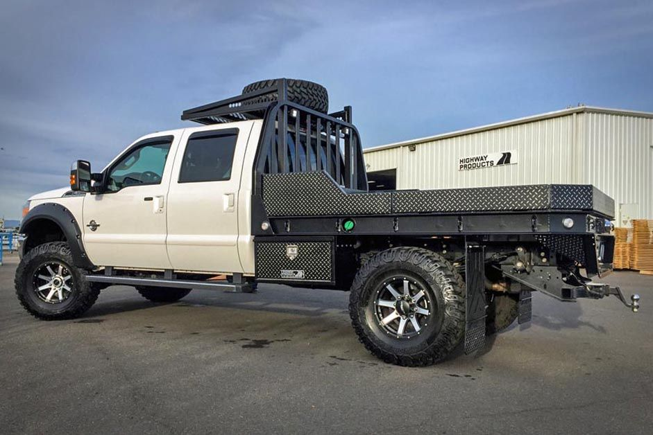 Gallery   Custom Pickup Truck Flatbeds   Highway Products ...