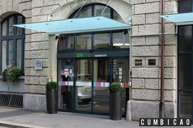 Cumbicão: Hotel Review - Onde ficar em Lucerna? Hotel IBIS Styles Luzern City.