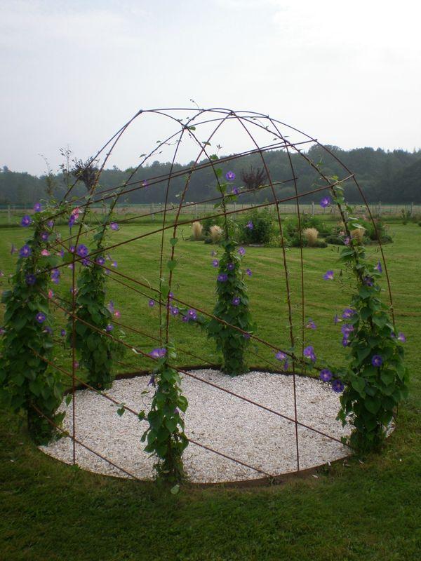 gloriette fleurie boutures de reves le jardin de sophie treillage etc pinterest. Black Bedroom Furniture Sets. Home Design Ideas