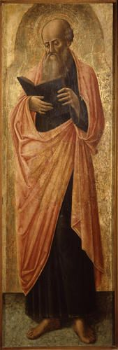 Antonio Vivarini -  - San Barnaba - 1460 circa - Accademia Carrara di Bergamo Pinacoteca