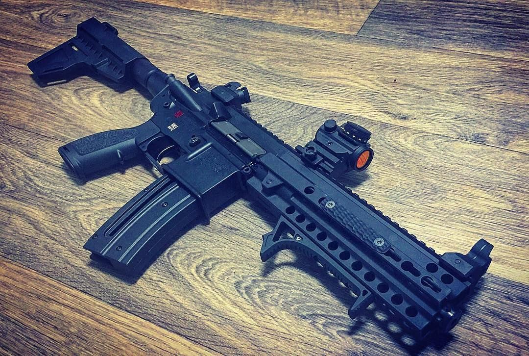 remingtonnnnnn Hk416 22LR Pistol  An absolute blast to shoot  Thanks