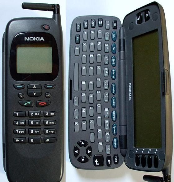 1996 Nokia released the Nokia 9000, the first of Nokia's