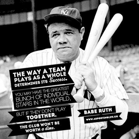 Sports Quotes / sports quote baberuth sportsquotes