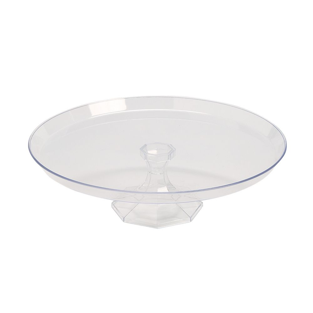 Medium Clear Dessert Stand | Products