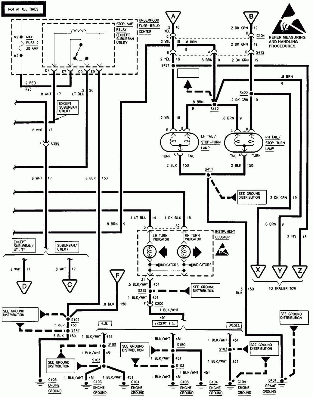 1998 Gmc Sierra Wiring Diagram
