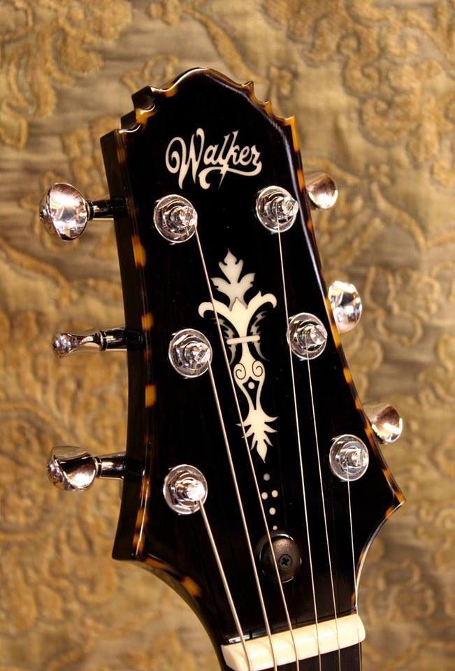 Electric Guitar Headstocks By Brand : headstock walker electric guitar guitars in 2019 guitar acoustic guitar guitar inlay ~ Hamham.info Haus und Dekorationen