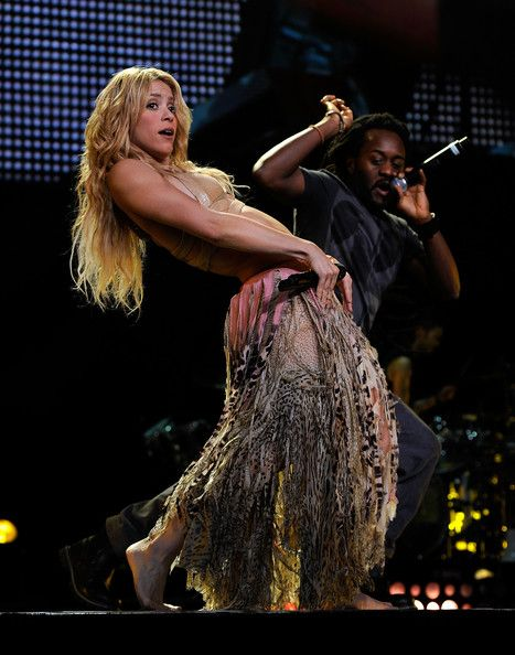Shakira in Concert at Madison Square Garden Show Shakira and