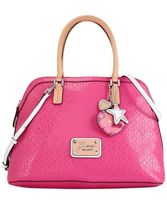 GUESS Handbag, Airun Dome Satchel - Guess
