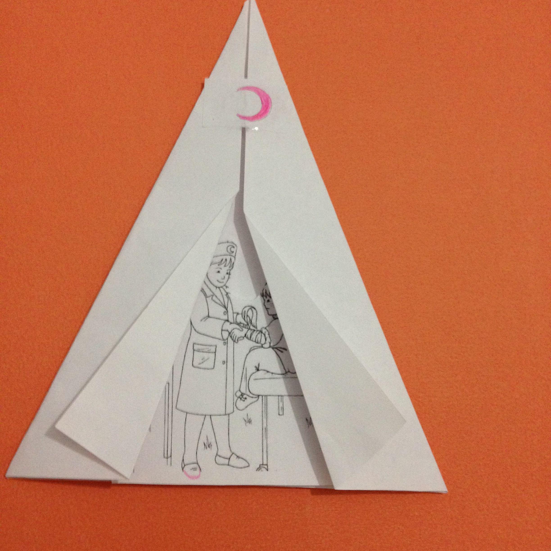 Kızılay çadırı Yapalım Denenecek Projeler School Baby Crafts Ve