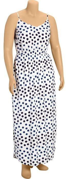 Old Navy Plus Size Printed Maxi Dresses