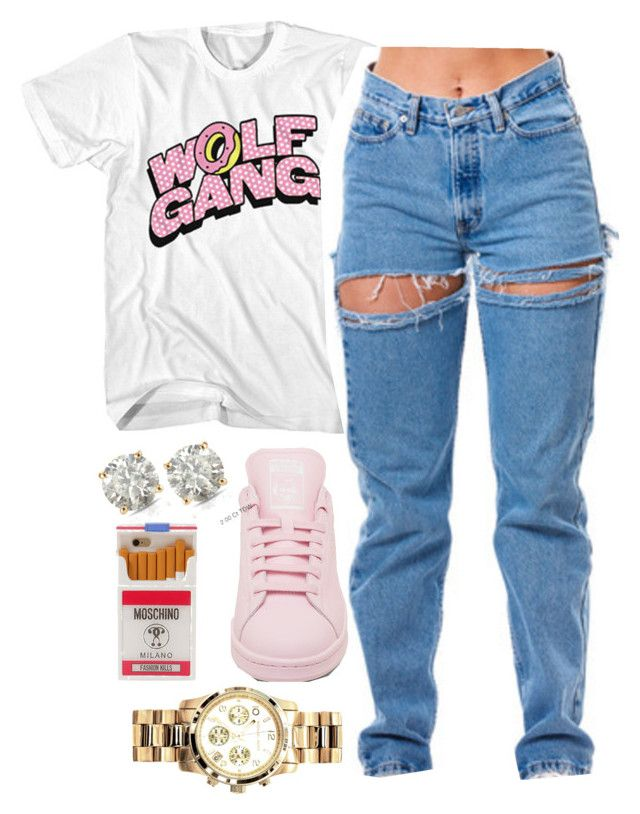 P R O F I T E R  by poundcakecake on Polyvore featuring polyvore, fashion, style, Michael Kors, Auriya, Moschino and clothing Aryelleee
