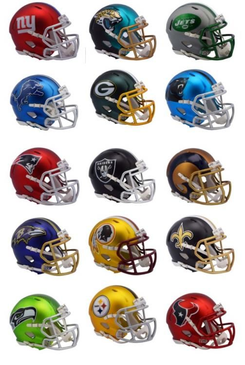 Riddell S Fashion Helmets Blaze Collection Sports Logo News Chris Creamer S Sports Logos Com In 2020 Football Helmets Nfl Football Helmets Nfl Football Players