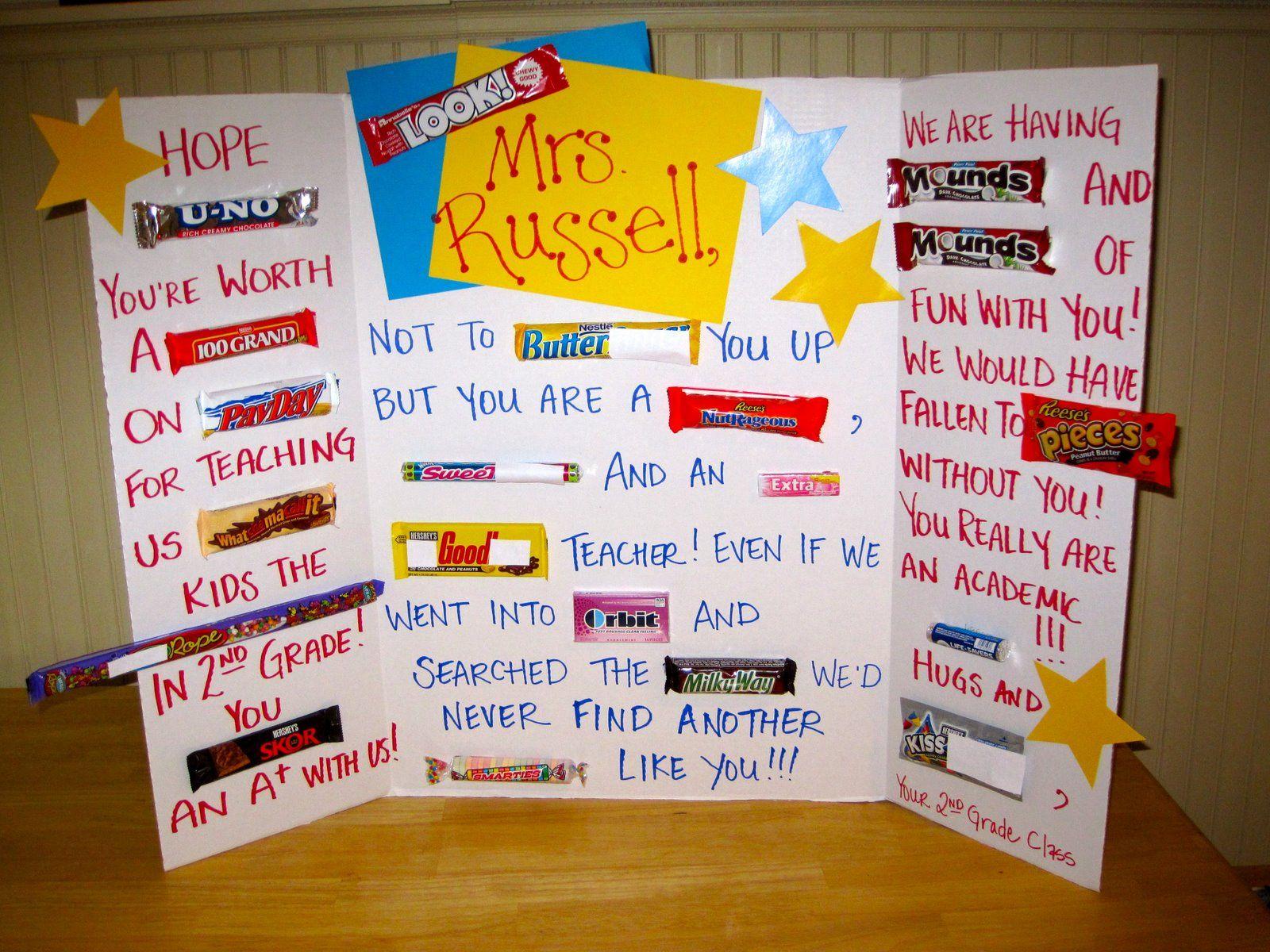Teacher appreciation card   Education   Pinterest ...