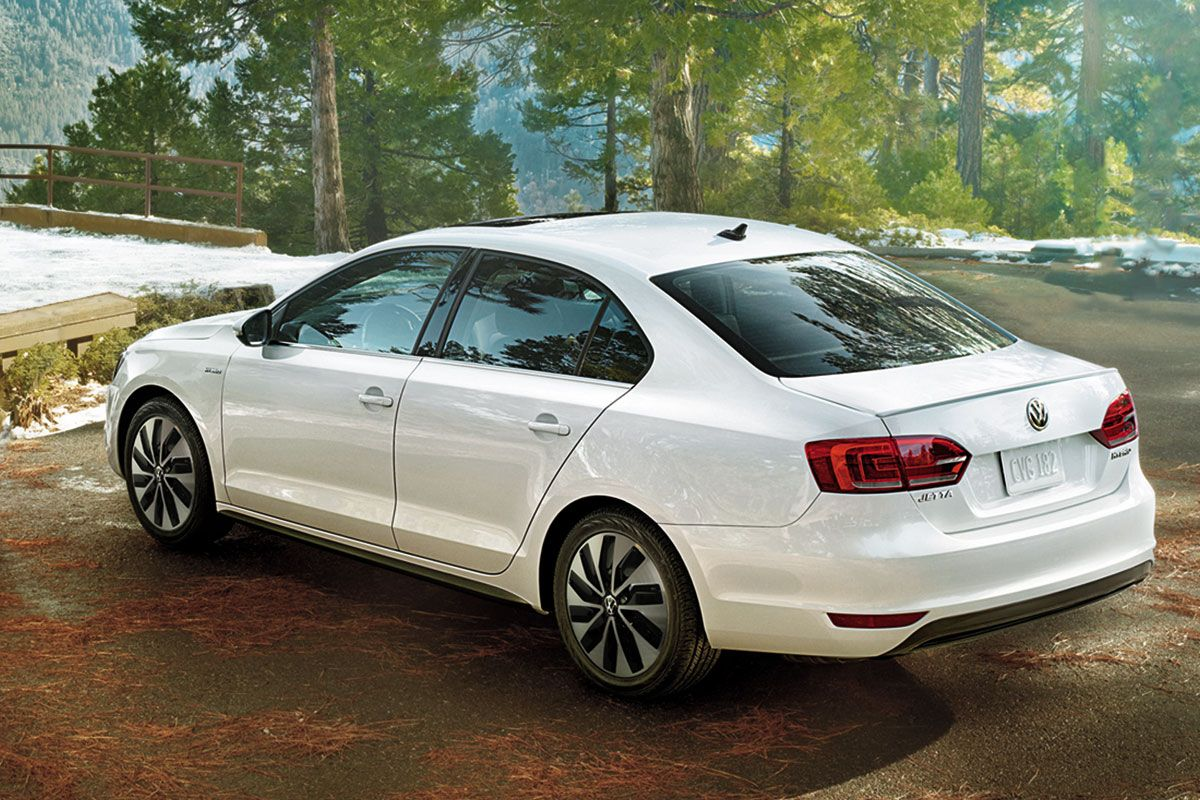 Volkswagen Jetta Turbo Hybrid Car Auto Heels Andwheels