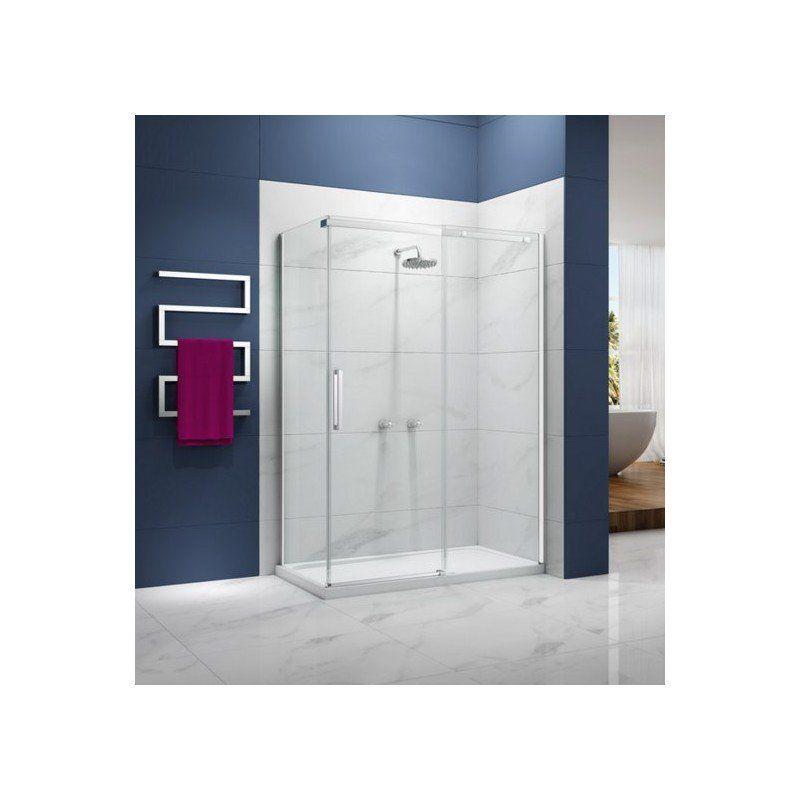 Merlyn Ionic Essence Frameless 1200mm Sliding Shower Door With Images Sliding Shower Door Shower Doors Bathroom Design