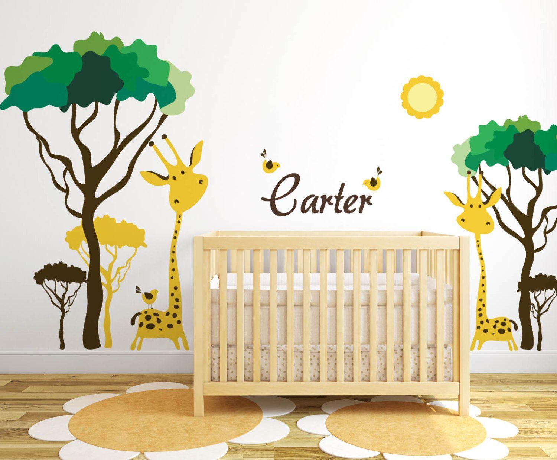 2019 Baby Room Jungle Wall Decals - Bedroom Closet Door Ideas Check ...