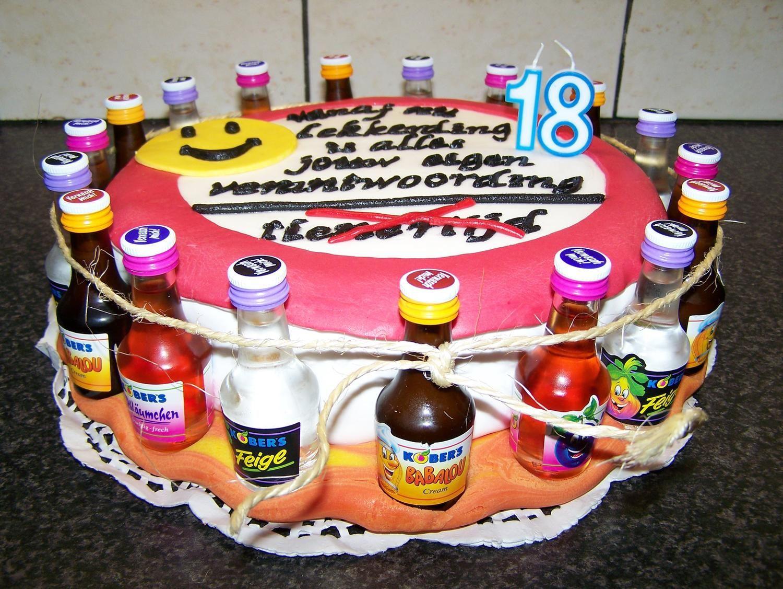 Robbys Torte Zum 18 Geburtstag Rezept Backen Geburtstag