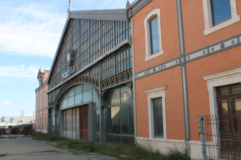 antigua estación de ferrocarril de Cádiz