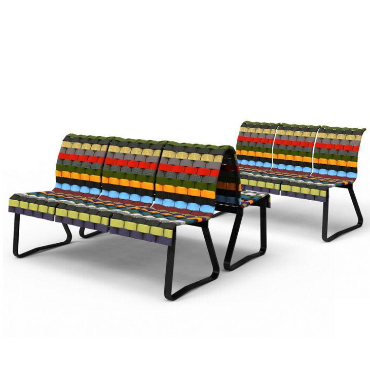 Stratified Public Seating Panchine E Sedie